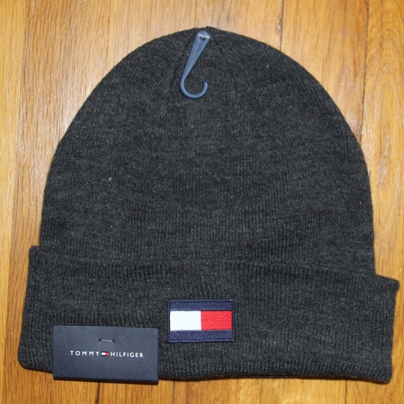 2107ab44e6c895 Tommy Hilfiger Accessories | Beanie Knitted Winter Hat | Poshmark